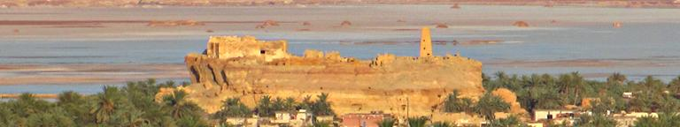 Located at the Siwa oasis, the famous ancient Amun Oracle temple atop the Aghurmi mound is the most significant old-world antiquities site in the Egyptian Sahara Desert.